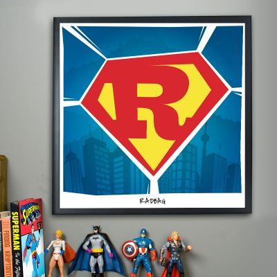 Póster personalizable - Superman