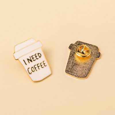 Ropa y accesorios - Broche I need Coffee