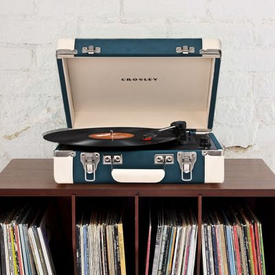 Altavoces & auriculares - Giradiscos Crosley Executive con USB
