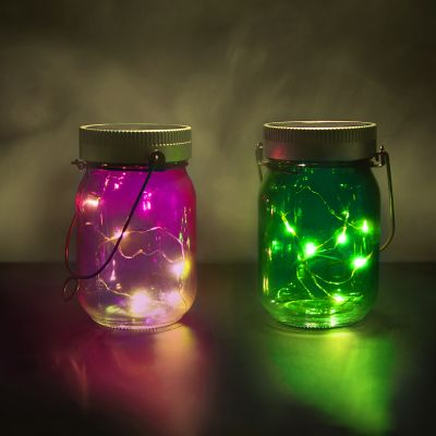 Decoración - Fairy Jars - lote de 2