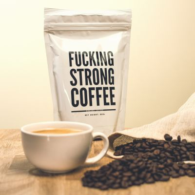 Café y té - F*cking Strong Coffee: Café super fuerte