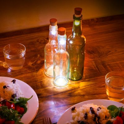 Top Ventas - Luz LED para botella con USB