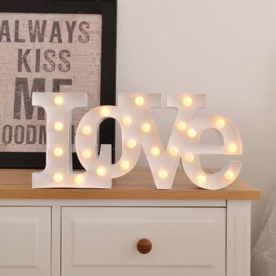 Decoración - Lámpara LED - Love