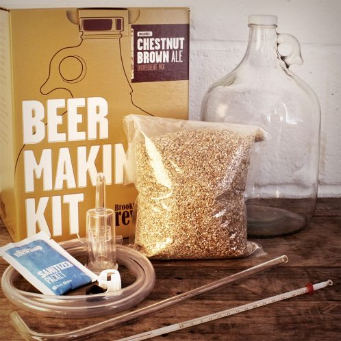 Regalos originales - Kit para fabricar cerveza BROOKLYN BREW SHOP